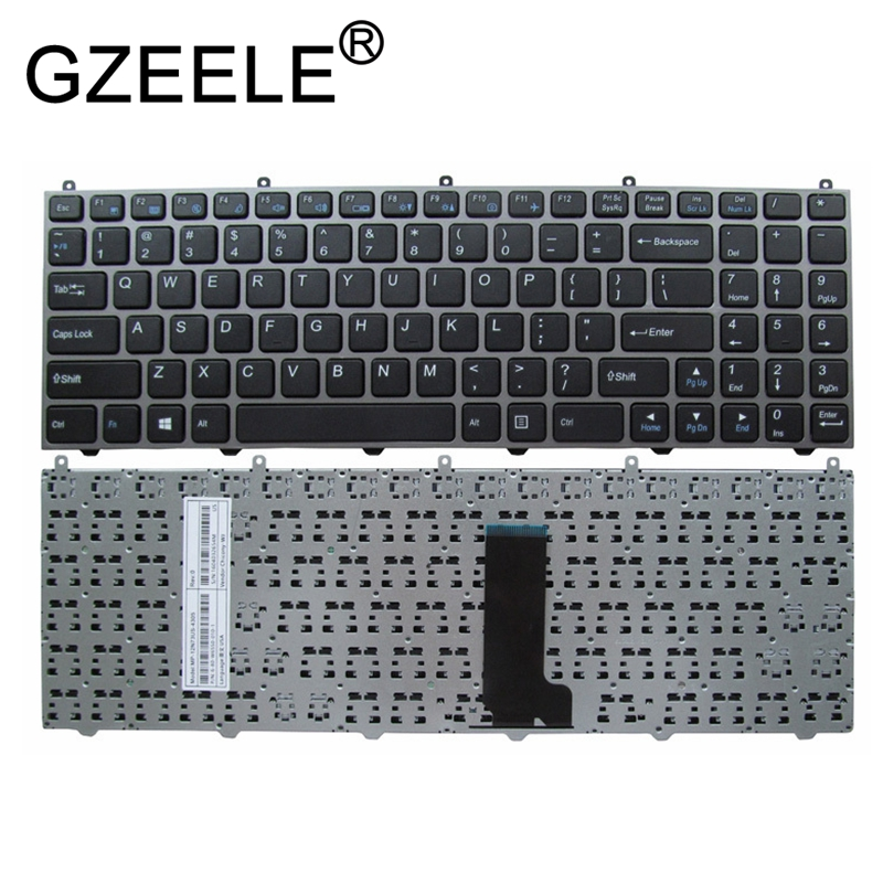 GZEELE English keyboard for HASEE K590C K650C K650D-I5 I7 D1 D2 K570N-I3 D1 I5D1 I7D1 for CLEVO W650ET W650 W650SR W650EH W655 2018 new brand bicycle frame stickers mtb dh cycling road ride decals bike frame decorative decals racing diy name stickers