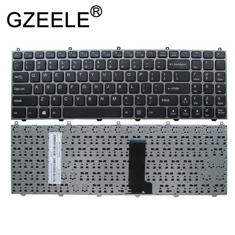 GZEELE English Keyboard For HASEE K590C K650C K650D-I5 I7 D1 D2 K570N-I3 D1 I5D1 I7D1 For CLEVO W650ET W650 W650SR W650EH W655