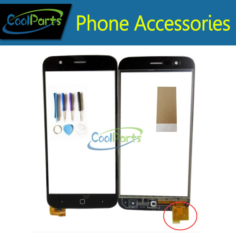 1PC /Lot High Quality For Vernee Thor Touch Screen Digitizer Touch Panel Glass Replacement Part With Tool&Tape Black Color