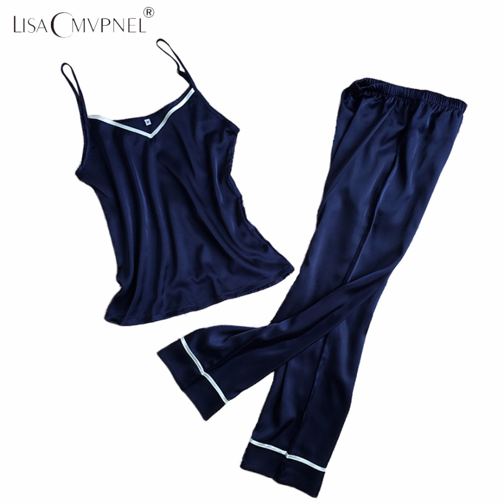 LISACMVPNEL POLYESTER SLEEVELESS FULL LENGTH   PAJAMAS   SOFT SOLID   PAJAMAS     SET