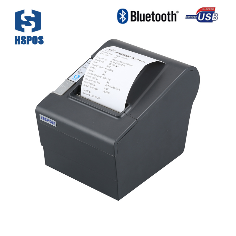 80mm android Bluetooth thermal printer price Android and ios thermal receipt printing machine with free SDK sell with 4 pcs