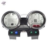 1 Zestaw Chrome Pokrywa Moto Motocykl Prędkościomierza Tach Miernik Miernik Prędkości Shell case dla Kawasaki ER-5 ER5 ER 5 ER500 darmowa wysyłka