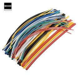 70 шт. полиолефин тепла Складная труба трубки наборы 2:1 Электрический огнестойкий прочный 7 цветов Ассорти цвета соотношение