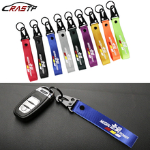 JDM Style For Honda Car Mugen Power Painting Cellphone Lanyard Racing Keychain ID Holder Mobile Strap Key Ring RS-BAG025