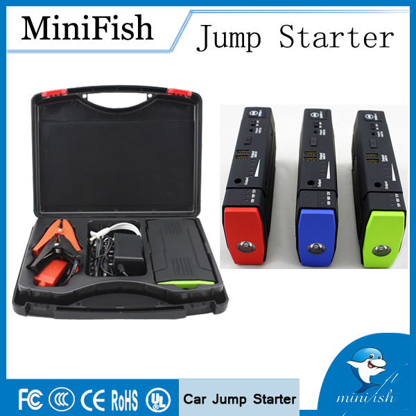 ФОТО Hot Selling Mini Portable Car Jump Starter 12000mAh 12V  External Battery Charger  Auto Emergency Start Power Bank