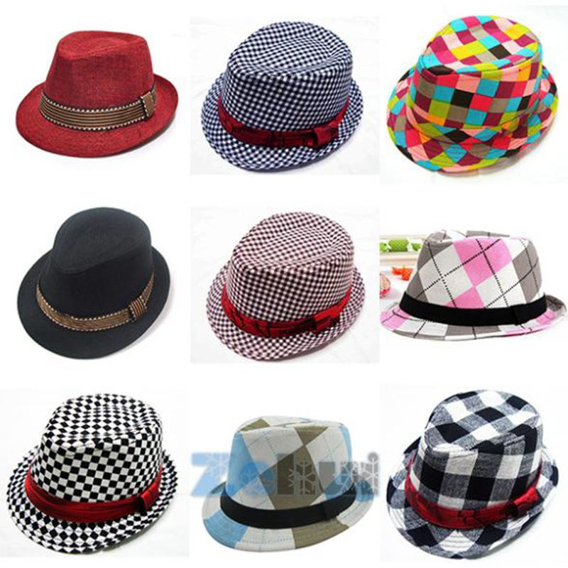 2018 Jazz Toddler Barn Baby Boy Girl Cap Cool Fotografi Fedora Cotton - Baby klær