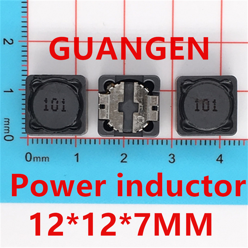 20pcs Shielded Inductor SMD Power Inductors 12*12*7MM CD127 1UH 10UH 100UH 2.2UH 22UH 220UH 3.3UH 33UH 330UH CDRH127R 10pcs smd power inductors 1uh 2 2uh 3 3uh 4 7uh 6 8uh 10uh 15uh 22uh 33uh 47uh chip inductor 0630 7 7 3
