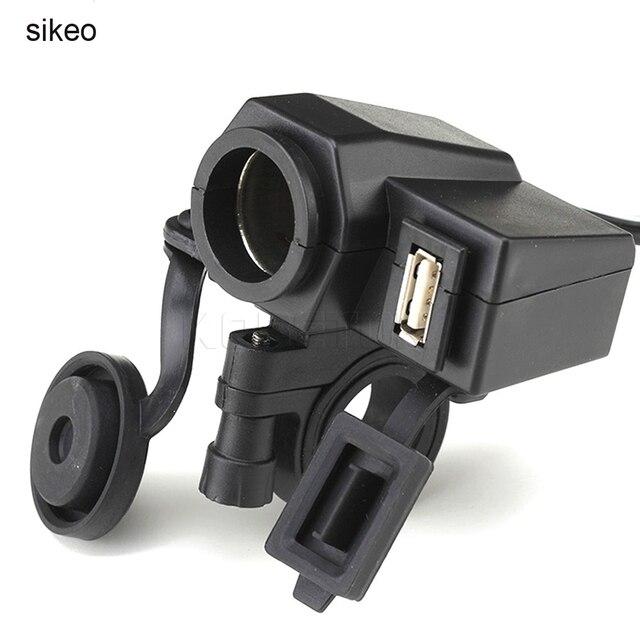 Sikeo impermeable toma de corriente usb para motocicleta moto 12 V  encendedor 5 V USB puerto 0dbf3c8ce883