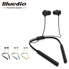 New Bluedio TN2 Sports bluetooth earphone Active Noise Cancelling wireless headset with microphone for mobile phones