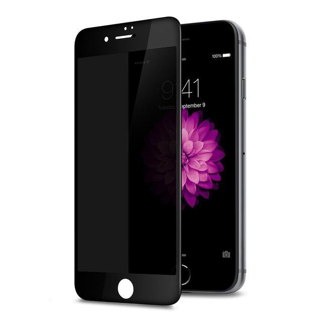 יוקרה 3D מעוקל אנטי ציוץ בוהק מסך מגן עבור iPhone מזג זכוכית פרטיות נייד טלפון מלא כיסוי סרט 100 יח\חבילה בתפזורת