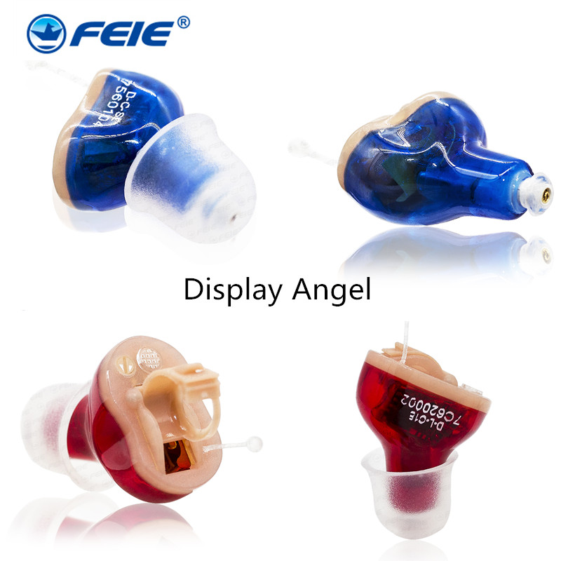 Mini Digital Hearing Aid on the Right Ear Left Ear S-10A Cheap Earphone Deaf Invisible Hearing Amplifier Drop Ship 2016 new products cheap china feie brand invisible digital hearing aid audiofone amplificador de surdez s 10a audifono with a10