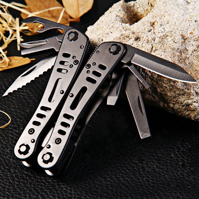 все цены на Ganzo G103 Multitool Pocket Folding Plier Camping Survival Knife Multi Tool Pliers Conbination Outdoor Hand Tools