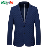Cartelo Brand 2016 New Spring 100 Polyester Jackets For Men Collar Down Jacket Coat Male