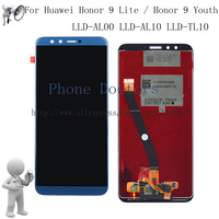 Blue Full LCD DIsplay Touch Screen Digitizer Assembly For Huawei Honor 9 Lite Honor 9 Youth