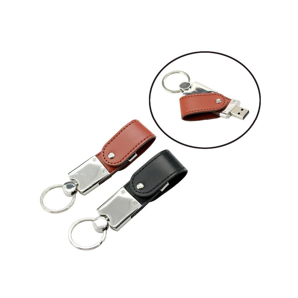 Portable Leather Metal Usb 2.0 Flash Drive Storage Device Pen Drive 256gb 128gb 64gb 32gb 16gb Mini Usb Memory Stick Pendrive