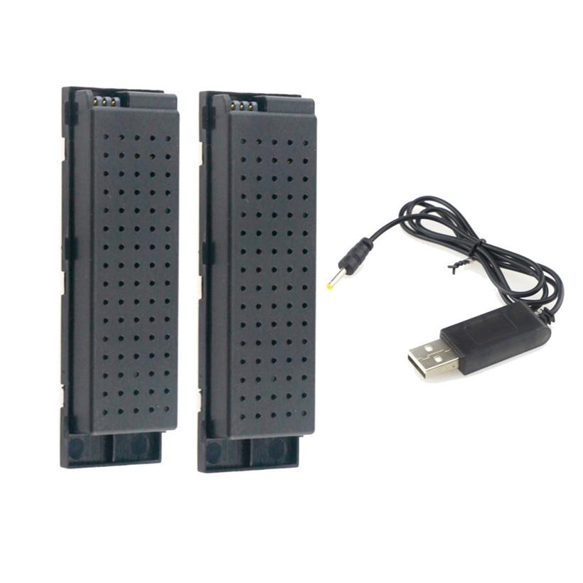 2pcs 3.7V 500MAH Lipo Battery for Eachine E56 JJRC H47 RC Quadcopter+ USB Charge drop shipping 1103