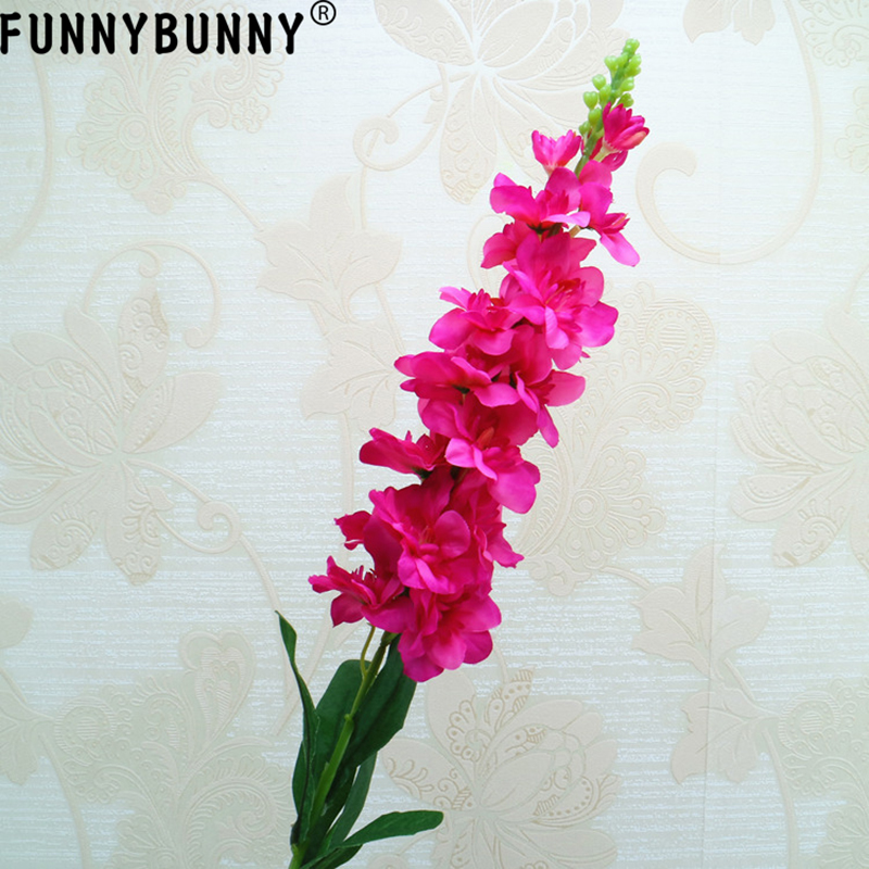 FUNNYBUNNY Artificial flower decoration single head hyacinth for wedding decor home decor table decor DIY flower arrangement in Artificial Dried Flowers from Home Garden