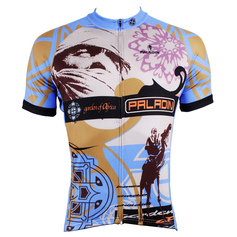 CYCLING JERSEYS 2016 Men hot top Sleeve Cycling Jersey Breathable Bike Clothes Desert Camel Cycling Clothing BIKE ILPALADIN 2016 new men s cycling jerseys top sleeve blue and white waves bicycle shirt white bike top breathable cycling top ilpaladin