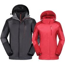 2016 new autumn and winter men and women couple jacket waterproof breathable mountaineering jacket outdoor windbreaker jacket