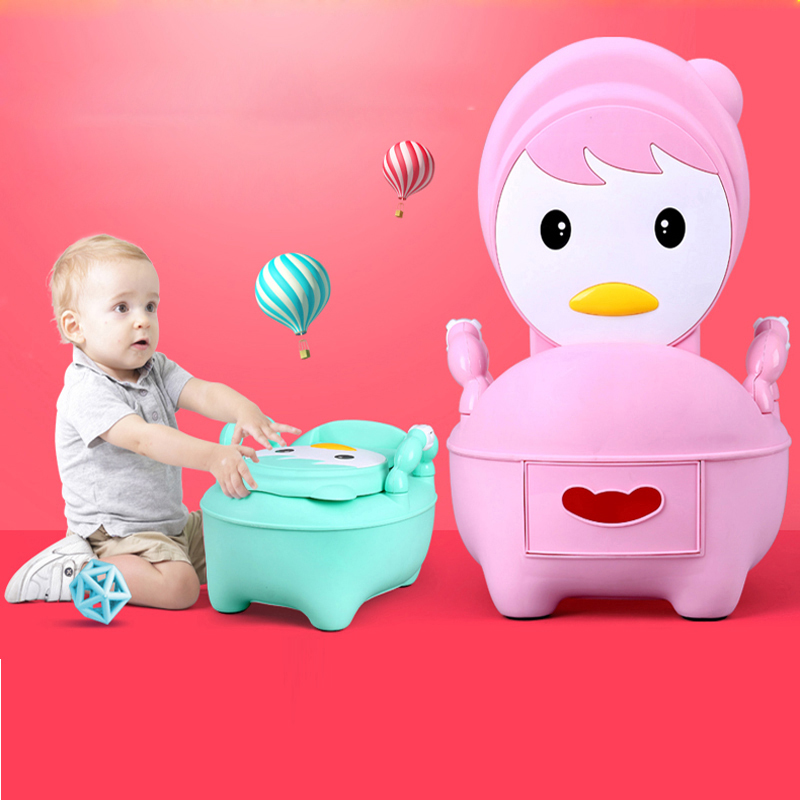 2:1 Useful Toilet Training Seat Adult Baby Potty For Girls And Boys For Free Potty Brush