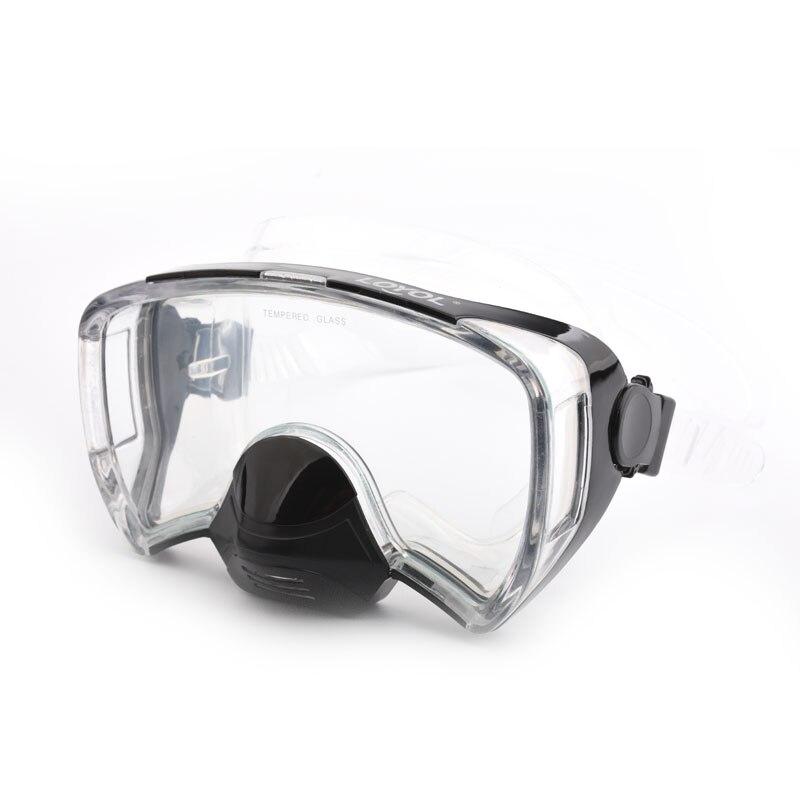 7fd16455d 2018 nuevas máscaras de buceo para adultos anti niebla profesional gafas de  natación Mergulho gafas subacuáticas Snorkel equipo de buceo
