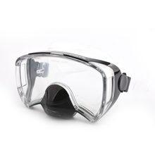 Máscara de mergulho com suporte para adultos, óculos de natação profissional anti-embaçamento, mergulho, equipamento de mergulho 2019