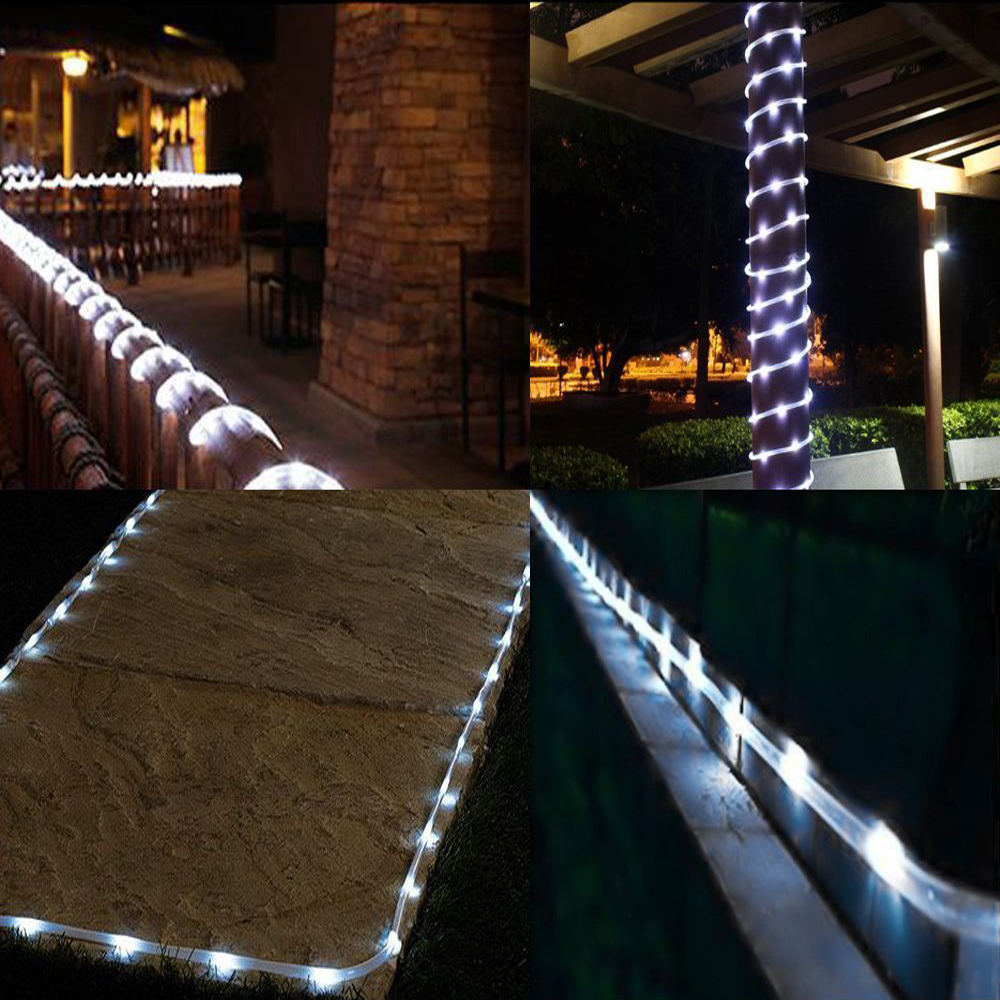 Battery powered led outdoor christmas lights 1m 10m led string 10m 100leds battery powered led rope tube string lights waterproof aloadofball Gallery