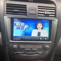 LEEWA 8 дюймов больше HD Экран Android 6,0 4 ядра медиа плеер с gps Navi Радио для Toyota Camry XV40/Daihatsu Altis