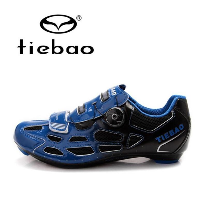 Tiebao Cycling Shoes zapatillas deportivas hombre sapato masculino Bicycle Self-locking Road Bike Shoes Sneakers for Men Women tiebao cycling shoes for women