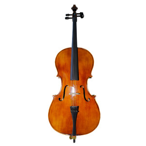 Image 2 - SevenAngel Handcraft Oil Varnish Antique Cello 4/4 Natural Flamed Grade AAA Spruce Panel ViolonCello Musical Instruments