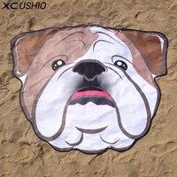 חתיכה אחת XC USHIO הכלב חמוד יצירתי רך מיקרופייבר 155*125 ס