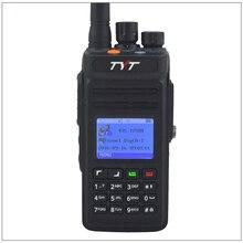 新しいラジオオリジナル tyt MD398/MD 398 dmr デジタルハンドヘルド双方向ラジオ/トランシーバー IP67 10 ワット 400 470 mhz mototrbo 一層私は