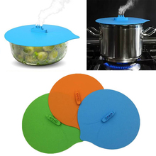 Creative Steamship Shape Boil Over Spill Stopper Covers Pot Lid Portable Silicone Kitchen Gadgets Cooking Tools Pan Cover