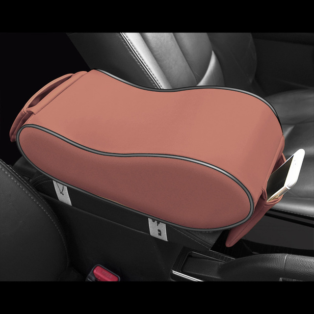 Brand New Car Armrest Box Central Armrest Pad Car Styling Decoration Universal Protective Armrest Box Pad Center Console Support