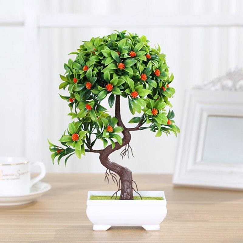 Aliexpress Com Buy Creative Fake Flower Mini Bonsai Set