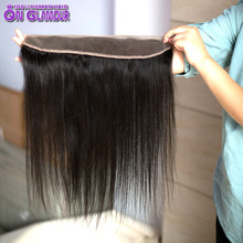 13×2 Brazilian Lace Forntal Closure With Baby Hair Cheap Brazilian Virgin Hair Straight Lace Frontal Full Frontal Lace Closure