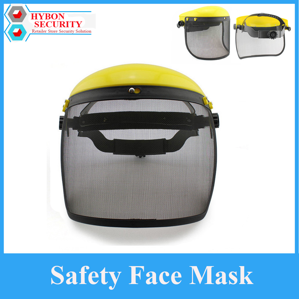 HYBON Safety Face Mask Protective Helment Mesh Chainsaw Safety Helmet Welding Helmet Lens Gardening Mask Protection sparta 300 warrior paragraph wire mesh tactical mask wire mesh mask
