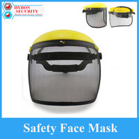 Safety Face Mask Protective Helment Mesh Chainsaw Safety Helmet Forestry Visor Protection Labor Gardening Mask Protection