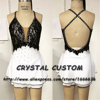 Crystal Custom Figure Skating Dress Girls New Brand Ice Skating Clothes For Competition DR4688