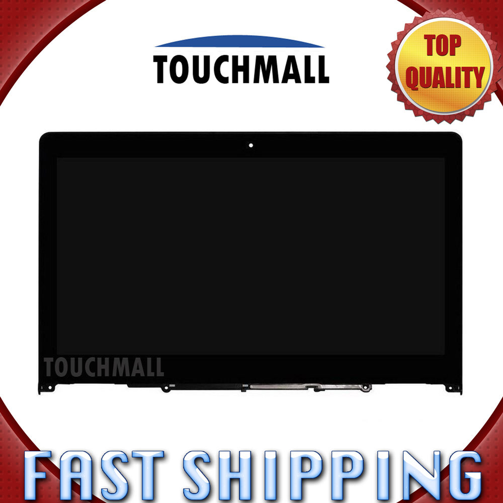 For New LCD Display Touch Screen with Frame Assembly Replacement Lenovo Flex 3 14 Flex 3-14 Series 14-inch Free Shipping