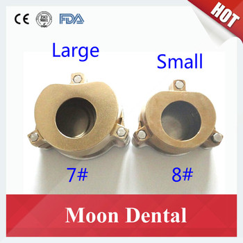 Wholesale Price 5 Pieces/lot Large and Small Brass Tooth Boiled Box Denture Flasks for Denture Press in Dental Laboratory