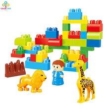 Juego de construcción con 44 piezas | Juguete educativo para bebé