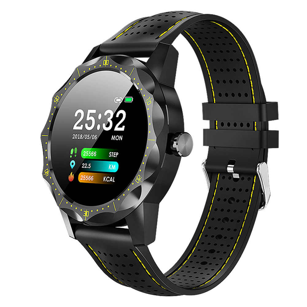 Tahan Air IP68 Sport Smart Watch Kebugaran Gelang Heart Rate Tekanan Darah Monitor Smart Watch untuk Android IOS Xiaomi iPhone