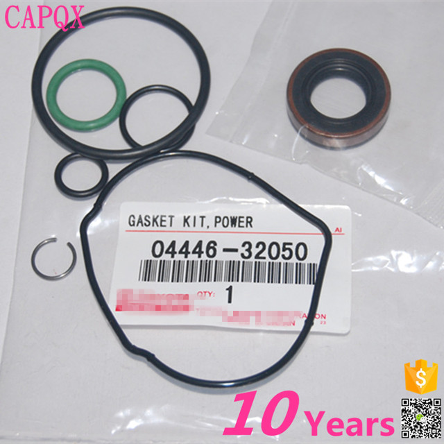 US $19 99 |CAPQX Power steering pump repair kit 04446 32050 for LEXUS FOR  YARIS/ECHO/COROLLA /CELICA/PREVIA HIACE/ALPHARD/COASTER/PRADO-in Seals from