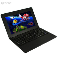 10.1 Inch Original Quad Core Notebook Android laptop Laptop Android 6.0 Wi fi Bluetooth Mini Netbook tablet pc tablets 10