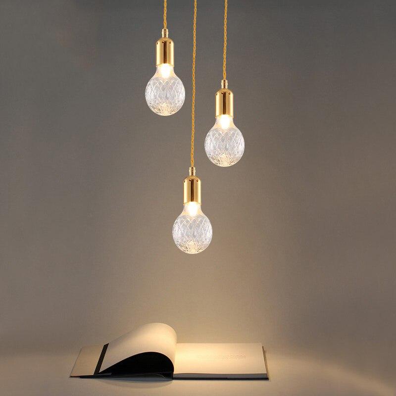 Lampes suspendues modernes LED lampes suspendues en cristal G4 Lustre boule de verre suspension luminaire luminaires de cuisineLampes suspendues modernes LED lampes suspendues en cristal G4 Lustre boule de verre suspension luminaire luminaires de cuisine