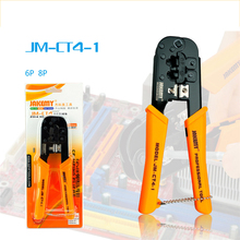 JAKEMY Multifunctional Cable Wire Strippers 6P 8P Ethernet Cable Plier Crimper Terminal Tools Pliers Network Clamp Tool JM-CT4-1 portable 6p 8p network ethernet internet cable crimper plier tools crimping repair tools wire cutter cutting pliers hand tool