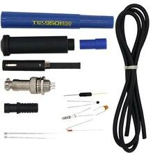4C/5C 9501 паяльная Ручка DIY Набор для T12 STC/STM32 O светодиодный цифровой контроллер паяльная станция с мячом и ртутный выключатель