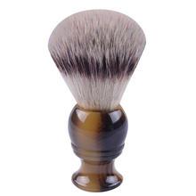 Цена акции помазок Высокое качество синтетические волосы 22*65 мм Узлы искусственная бычий Рог Ручка кисти для бритья