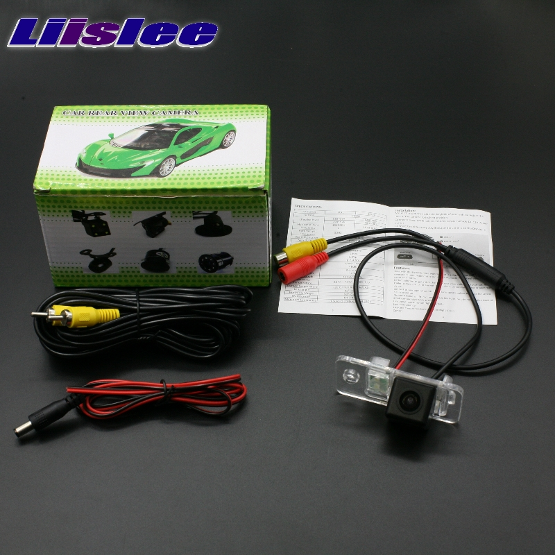 Liislee заднего Камера для Audi A6 C6 RS6 2005~ 2009 Высокое качество LiisLee Резервное копирование водонепроницамые камеры Ночное видение вида автомобиля Камера